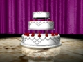 Wedding Cake 01 Video Background
