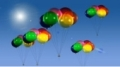 HD Balloons 001 Video Background