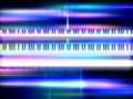 Piano 03 Video Background