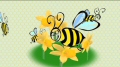 HD Bees Video Background
