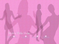 Teenage Girl DVD Menu Template