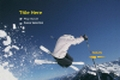 Skiing DVD Template